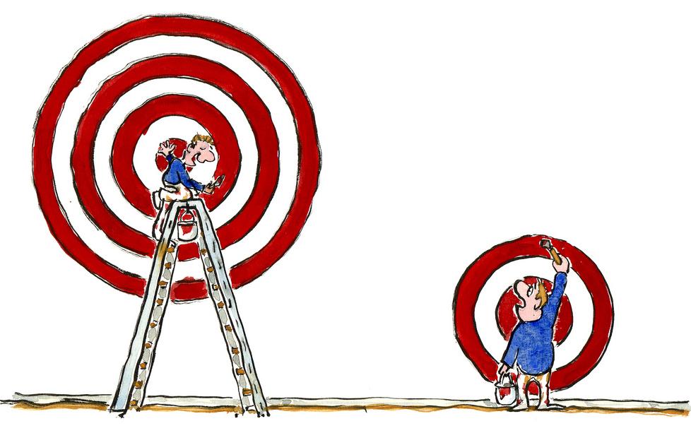 illustration de la performance d'un bon coaching par Hikingartist.com